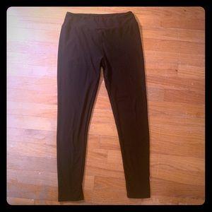 Solid Black LuLaRoe OS Leggings